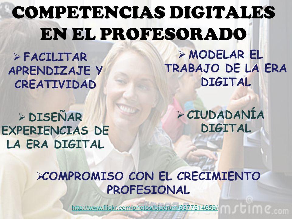 COMPETENCIAS DIGITALES EN EL PROFESORADO