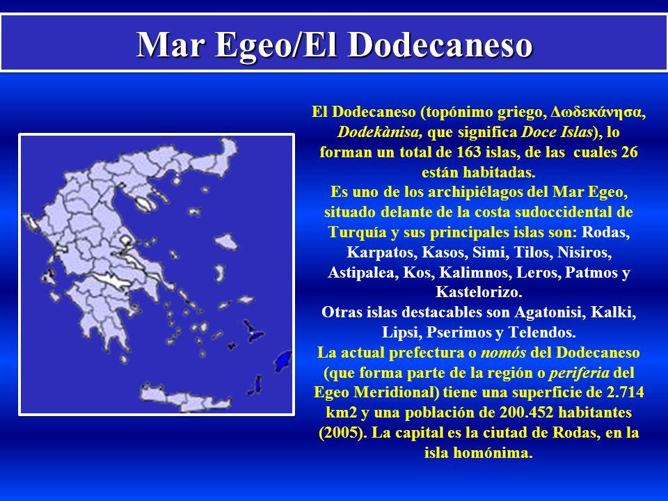 Mar Egeo/El Dodecaneso