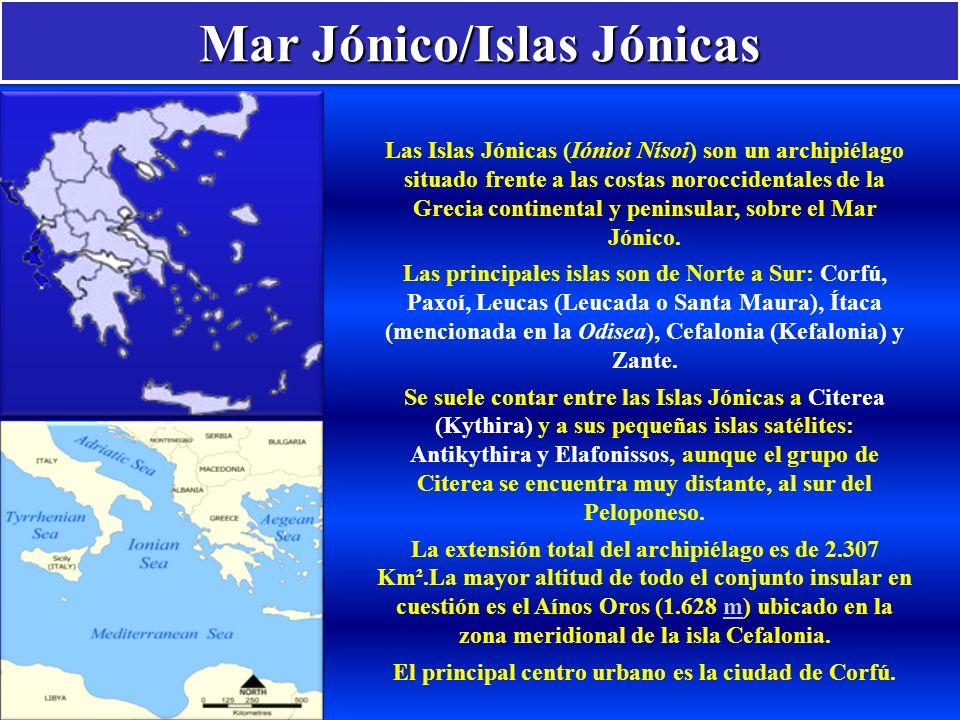 Mar Jónico/Islas Jónicas