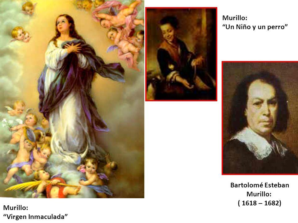 Murillo: Un Niño y un perro Bartolomé Esteban.