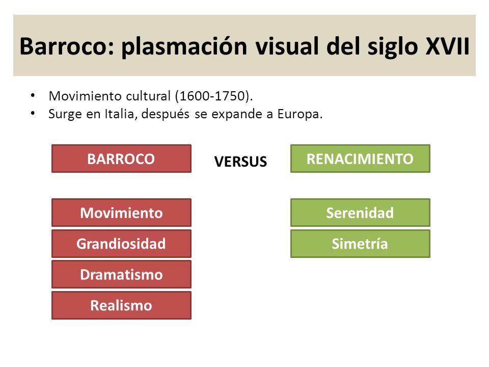 Barroco: plasmación visual del siglo XVII