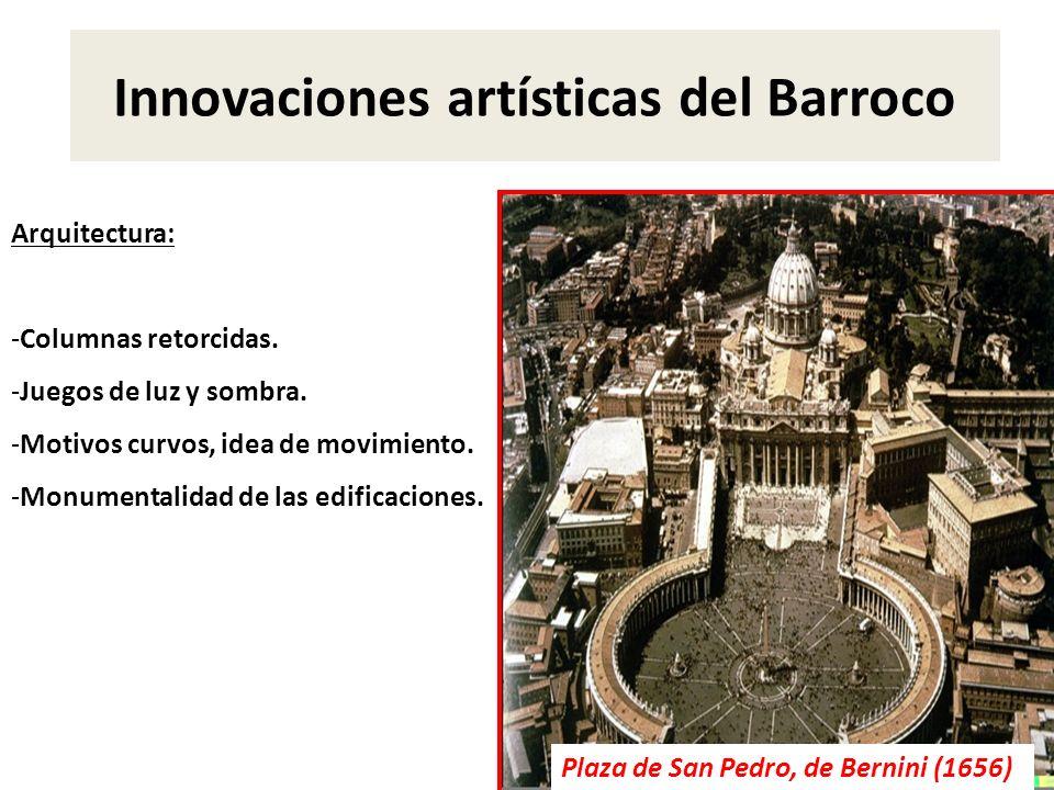 Innovaciones artísticas del Barroco