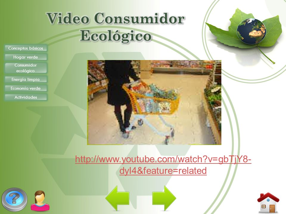 Video Consumidor Ecológico