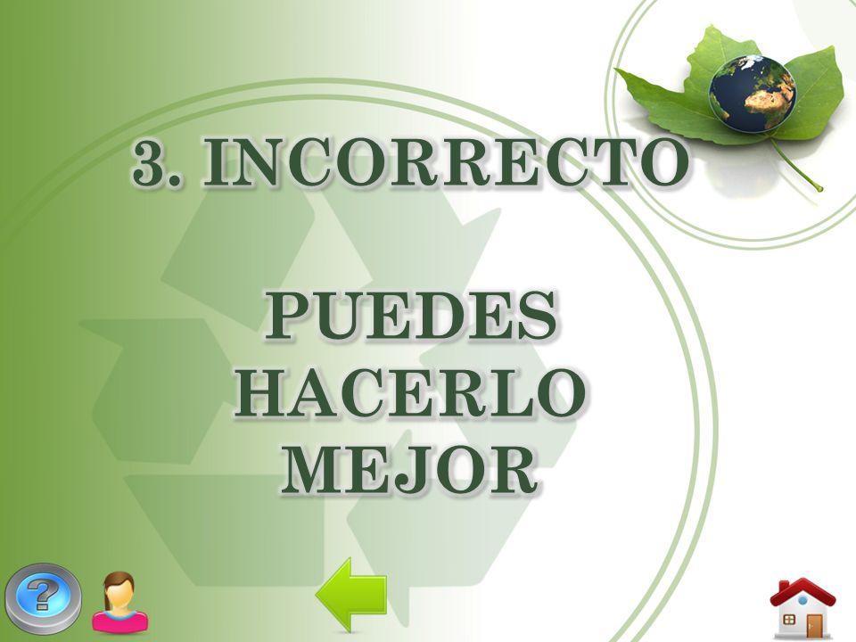 3. INCORRECTO PUEDES HACERLO MEJOR