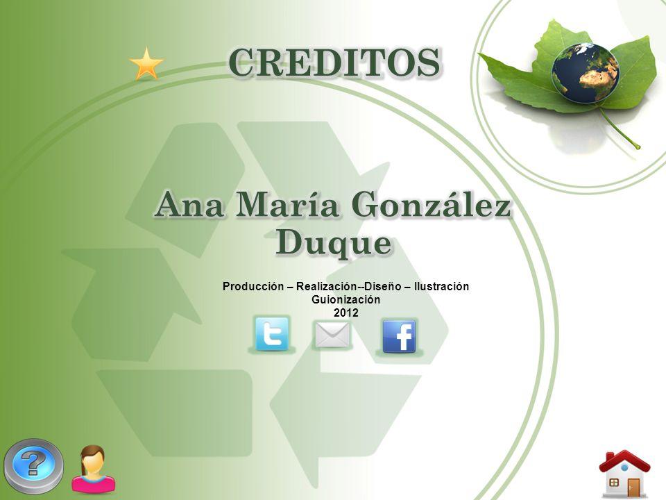 CREDITOS Ana María González Duque