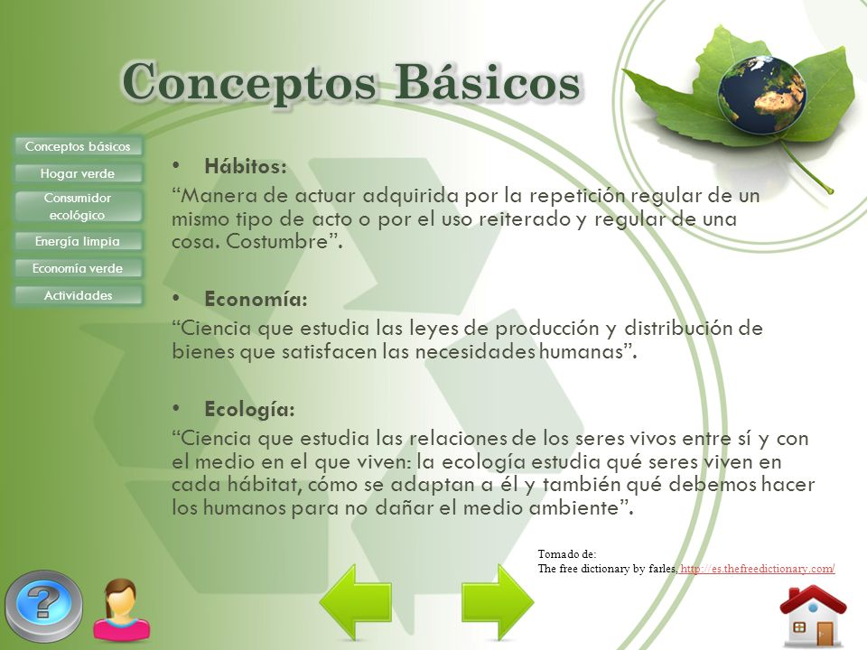 Conceptos Básicos Hábitos: