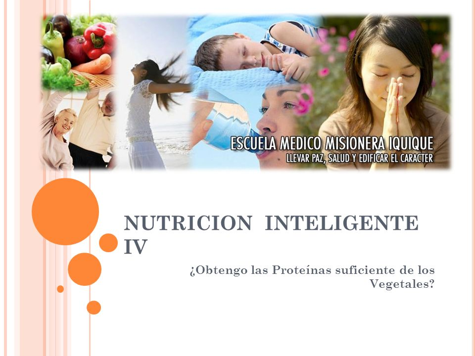 NUTRICION INTELIGENTE IV