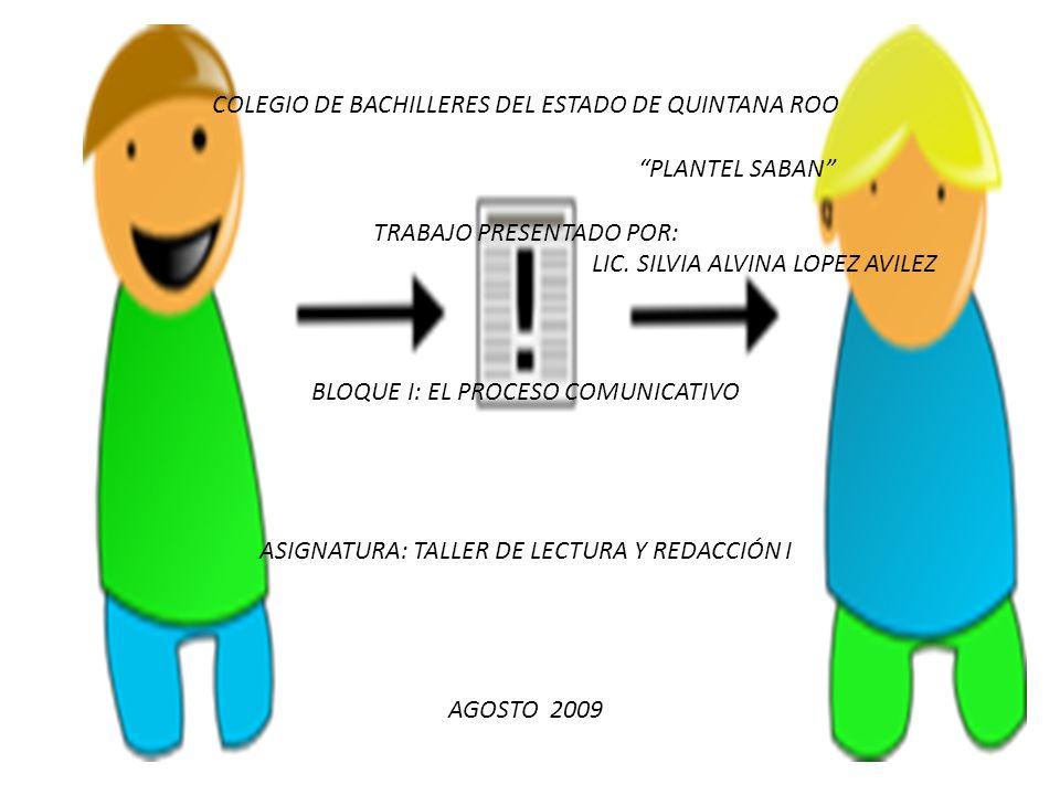 COLEGIO DE BACHILLERES DEL ESTADO DE QUINTANA ROO PLANTEL SABAN
