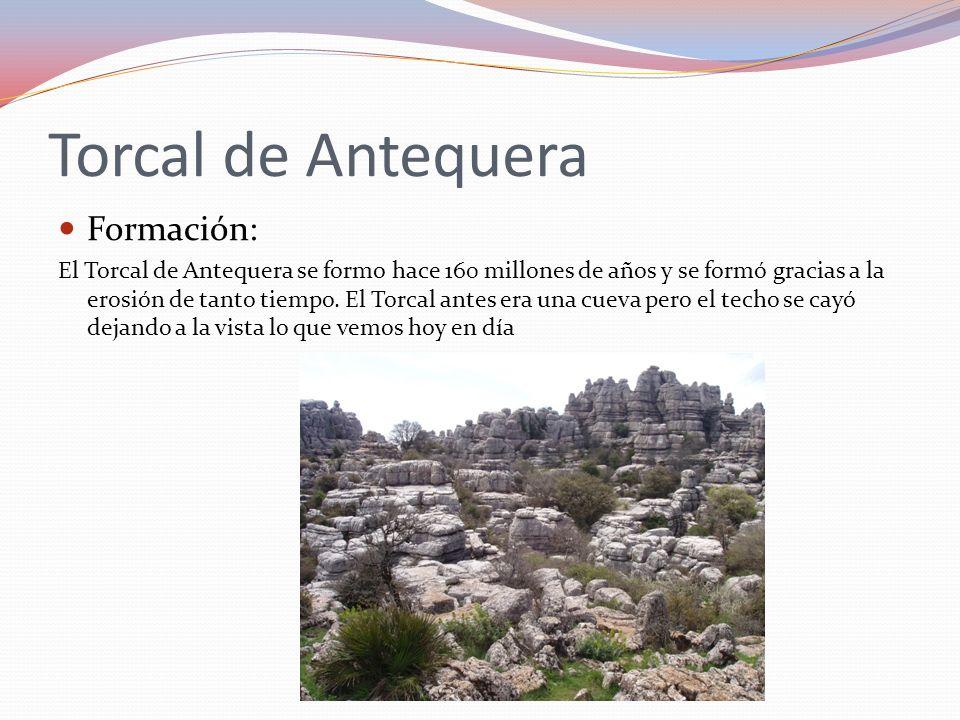 Torcal de Antequera Formación: