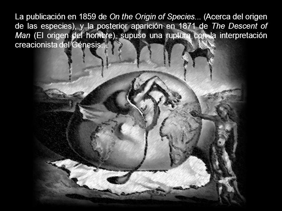 La publicación en 1859 de On the Origin of Species