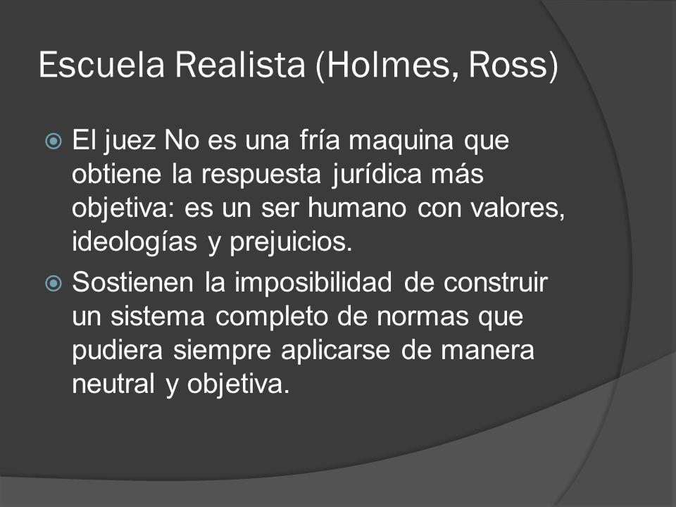 Escuela Realista (Holmes, Ross)