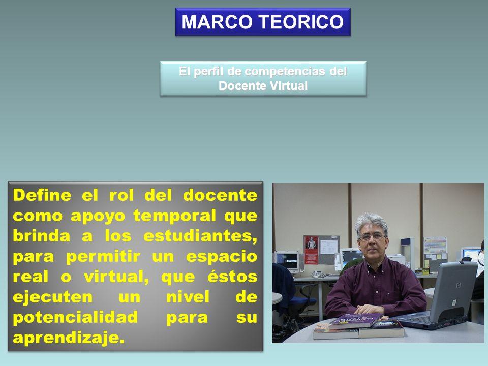 El perfil de competencias del Docente Virtual