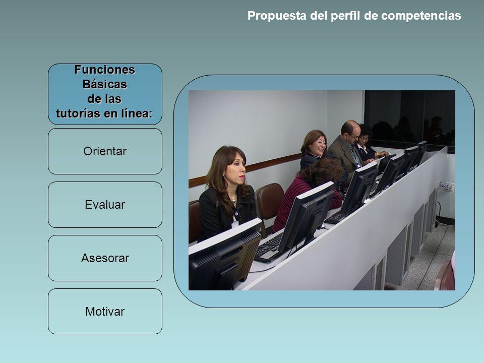 Propuesta del perfil de competencias