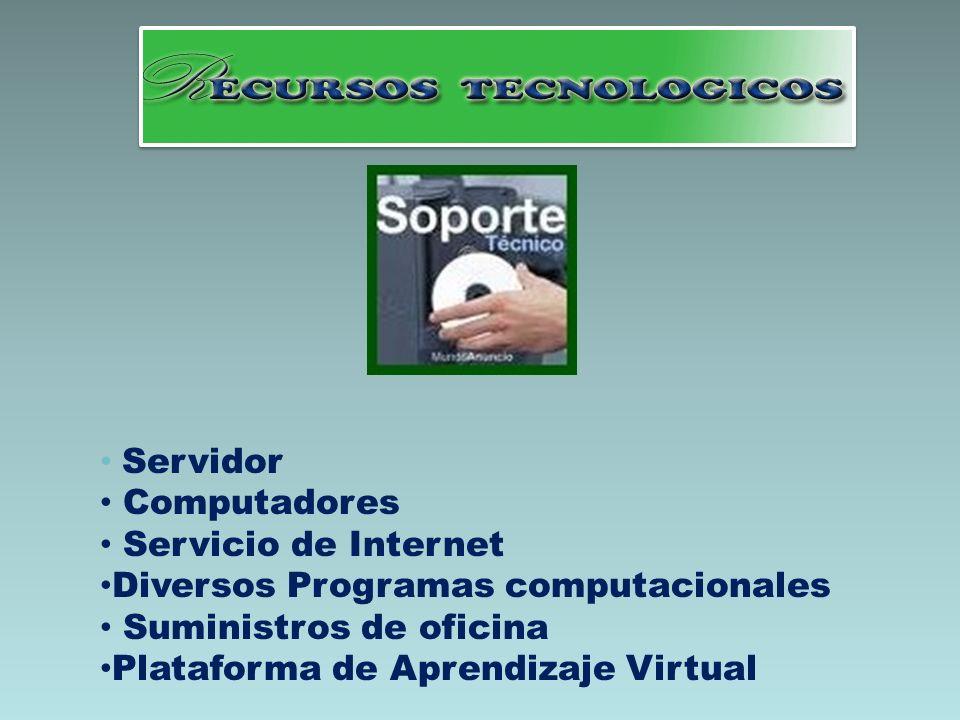 Diversos Programas computacionales Suministros de oficina