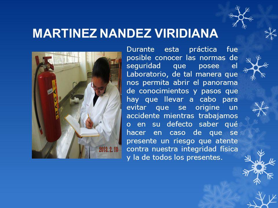 MARTINEZ NANDEZ VIRIDIANA