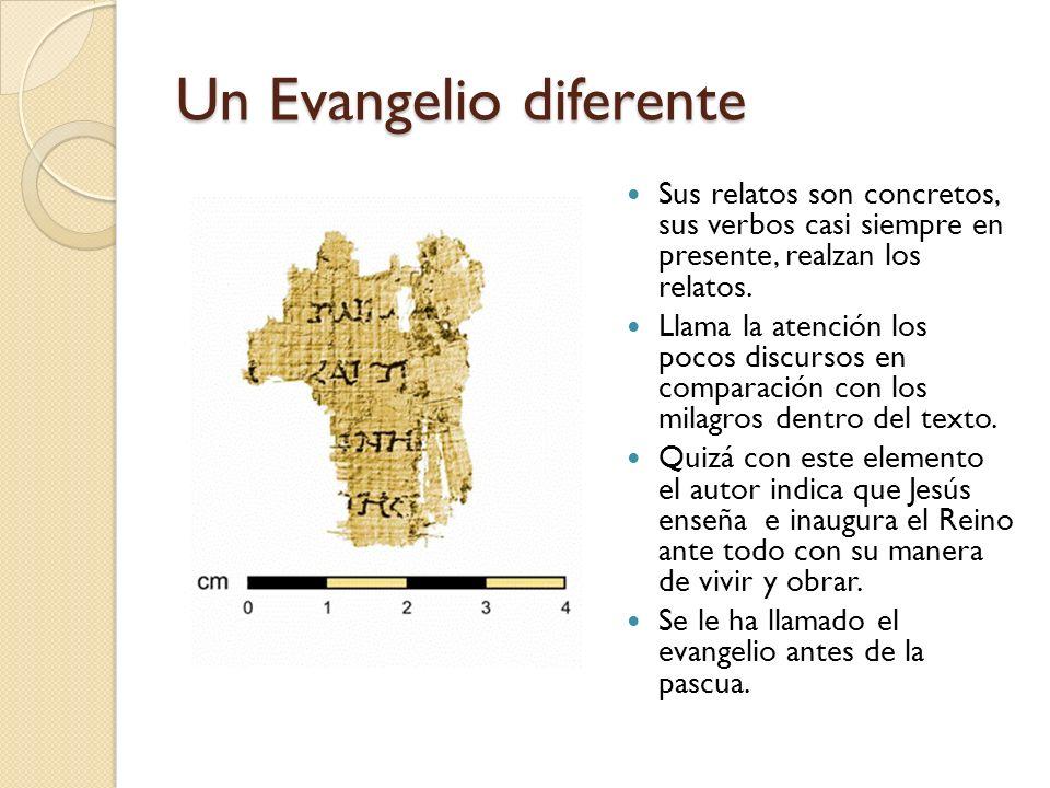 Un Evangelio diferente
