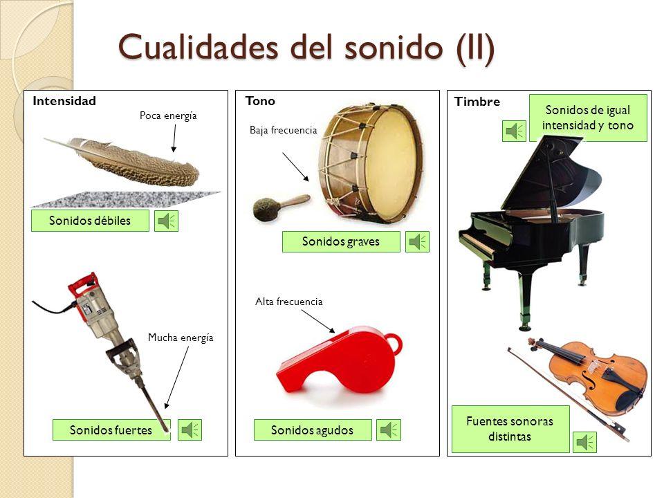 Cualidades del sonido (II)