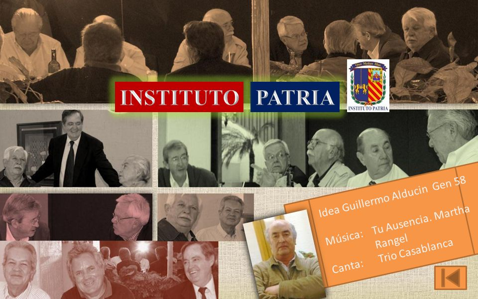 INSTITUTO PATRIA Idea Guillermo Alducin Gen 58