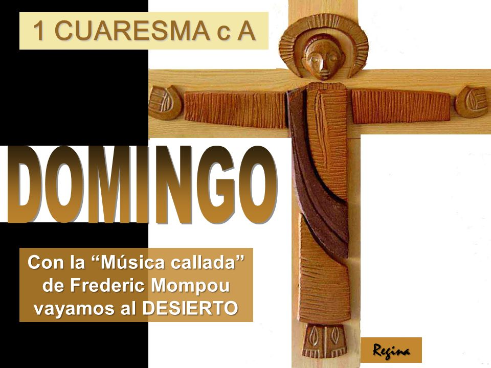 Con la Música callada de Frederic Mompou vayamos al DESIERTO