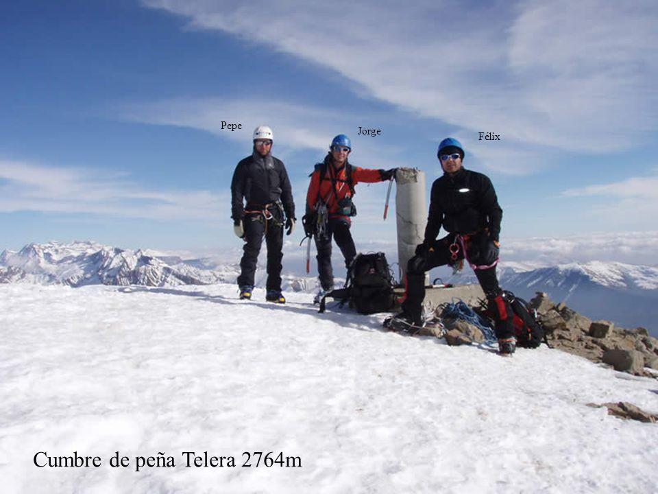 Pepe Jorge Félix Cumbre de peña Telera 2764m