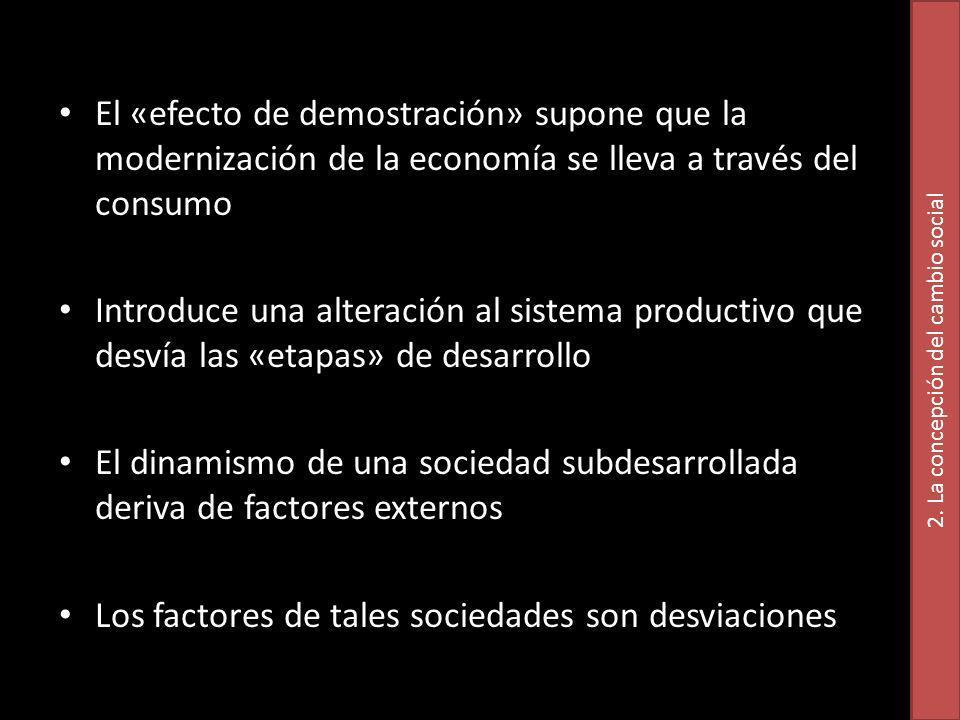 2. La concepción del cambio social