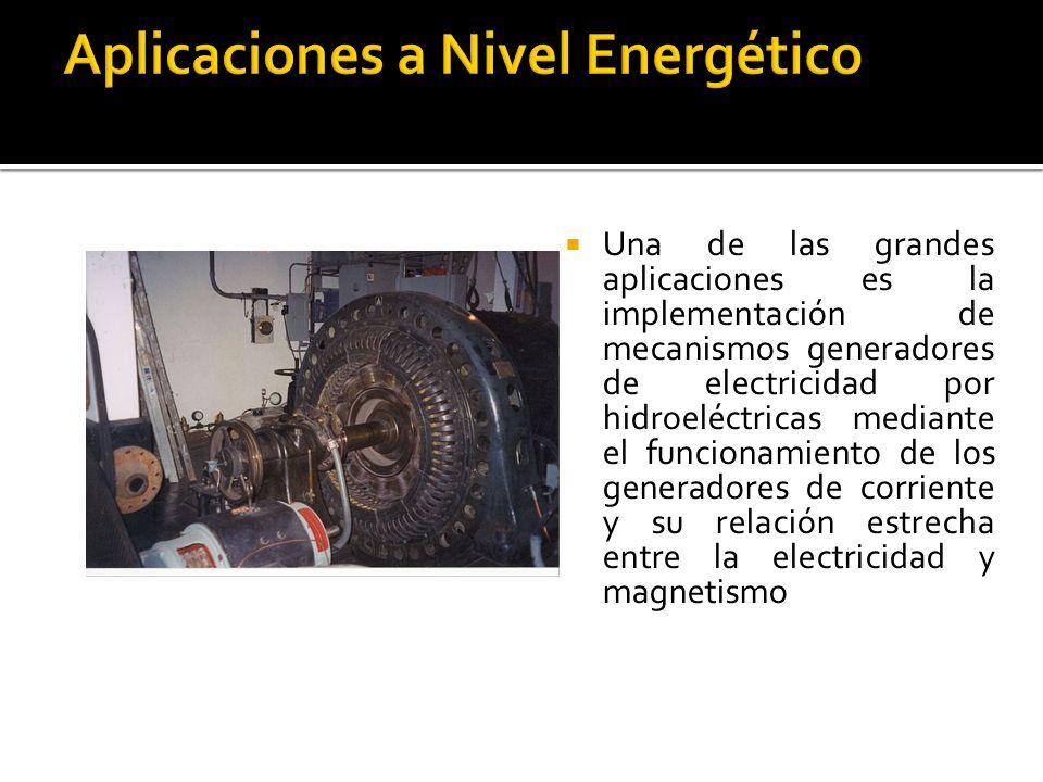 Aplicaciones a Nivel Energético