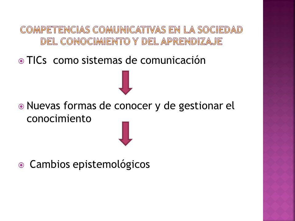 TICs como sistemas de comunicación