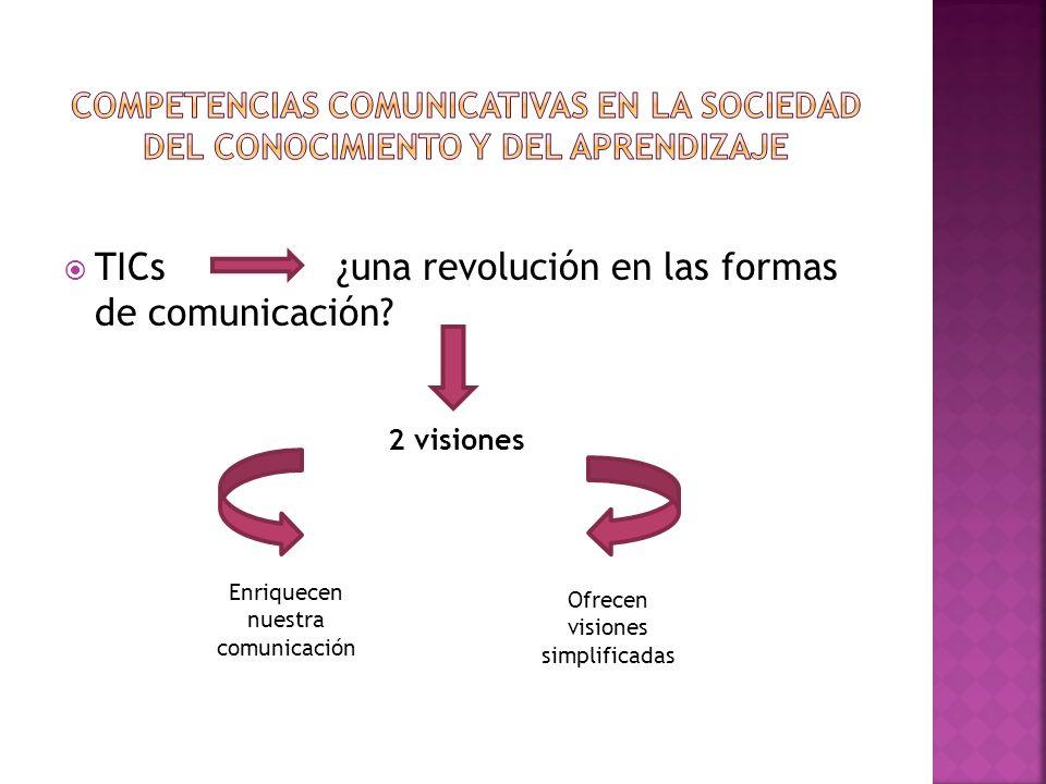 TICs ¿una revolución en las formas de comunicación