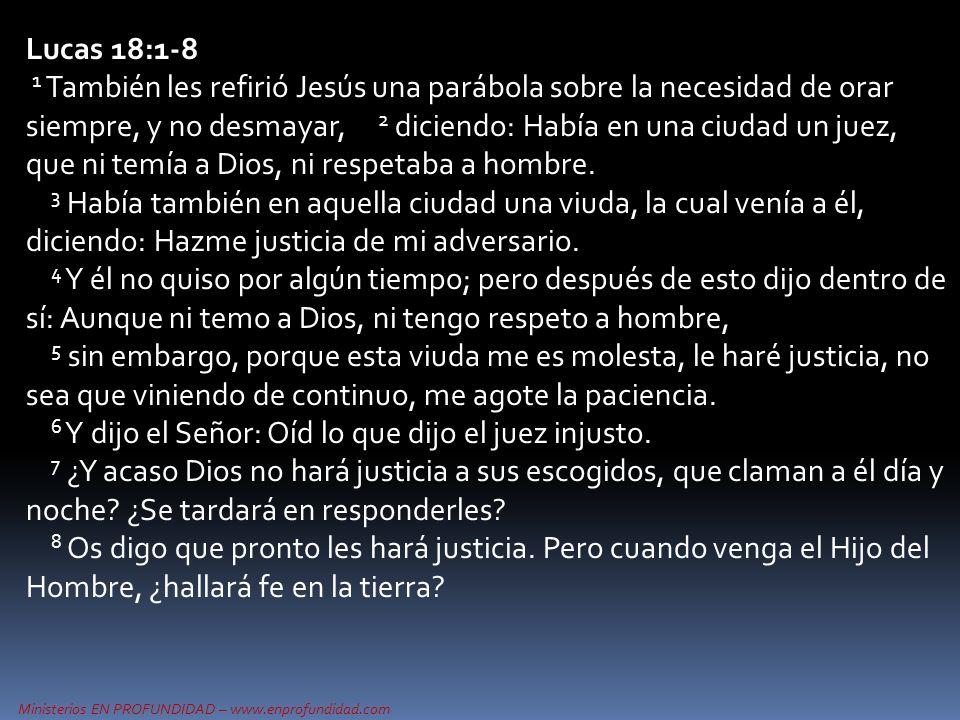 Lucas 18:1-8