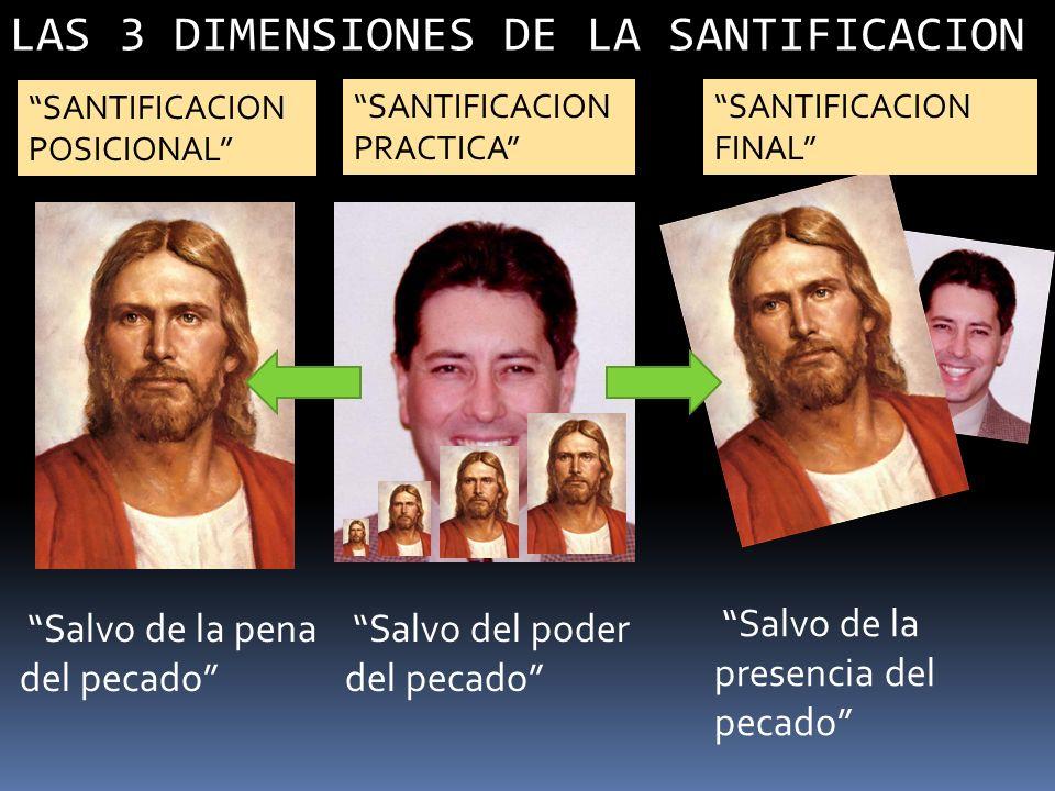 LAS 3 DIMENSIONES DE LA SANTIFICACION