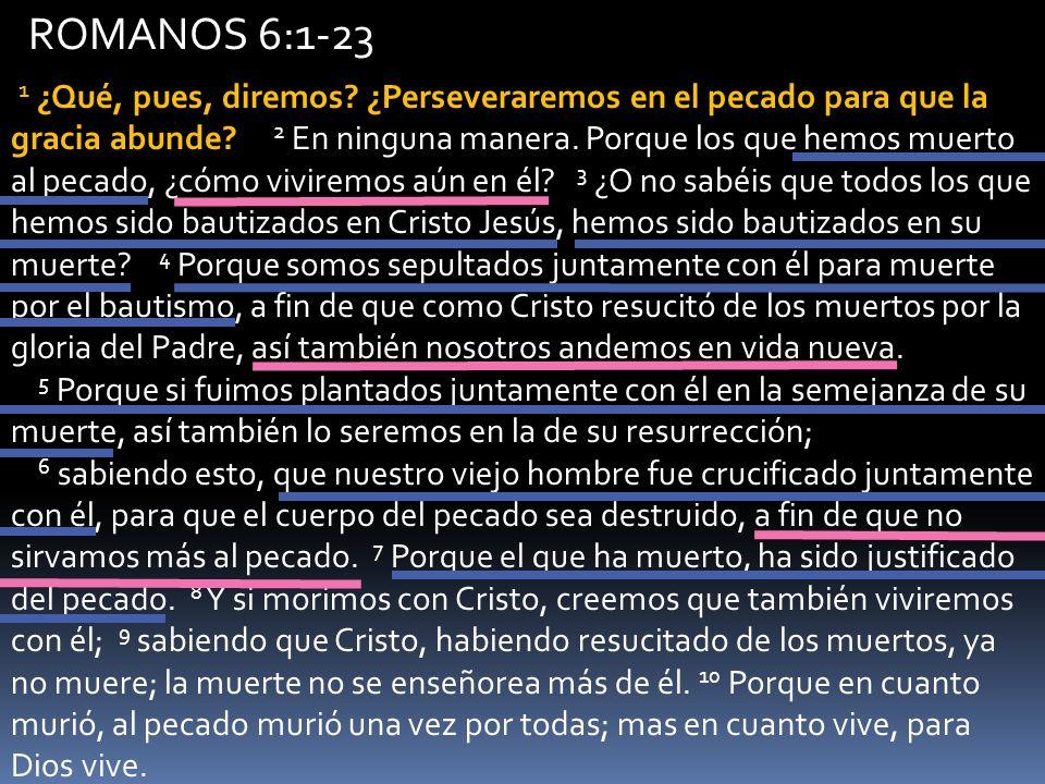 ROMANOS 6:1-23