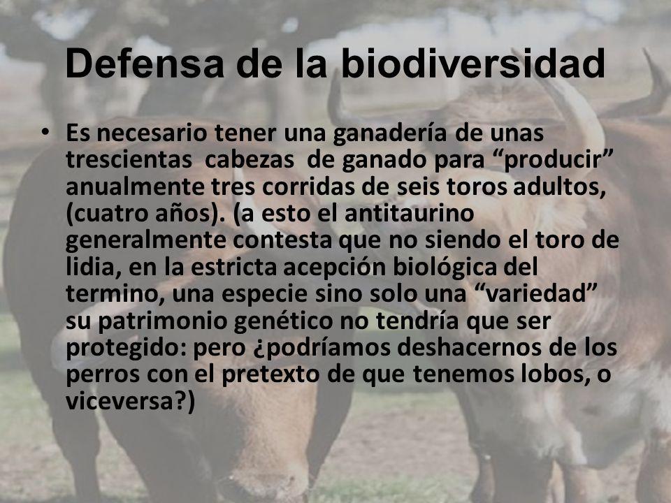 Defensa de la biodiversidad