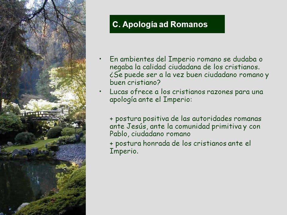 C. Apología ad Romanos