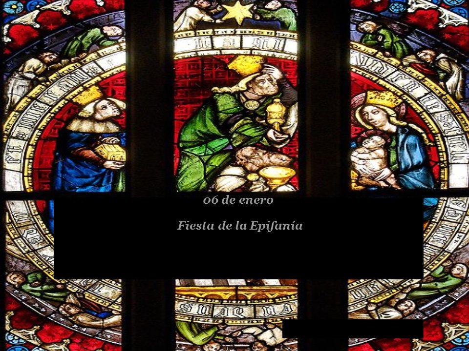 Fiesta de la Epifanía 06 de enero
