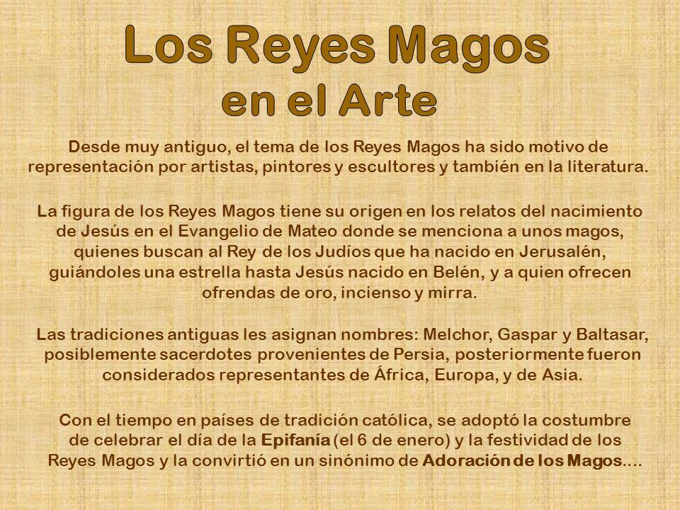 Los Reyes Magos en el Arte