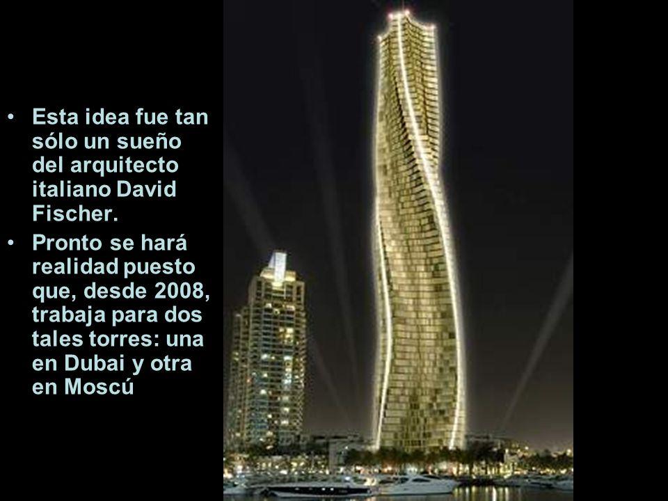 Esta idea fue tan sólo un sueño del arquitecto italiano David Fischer.