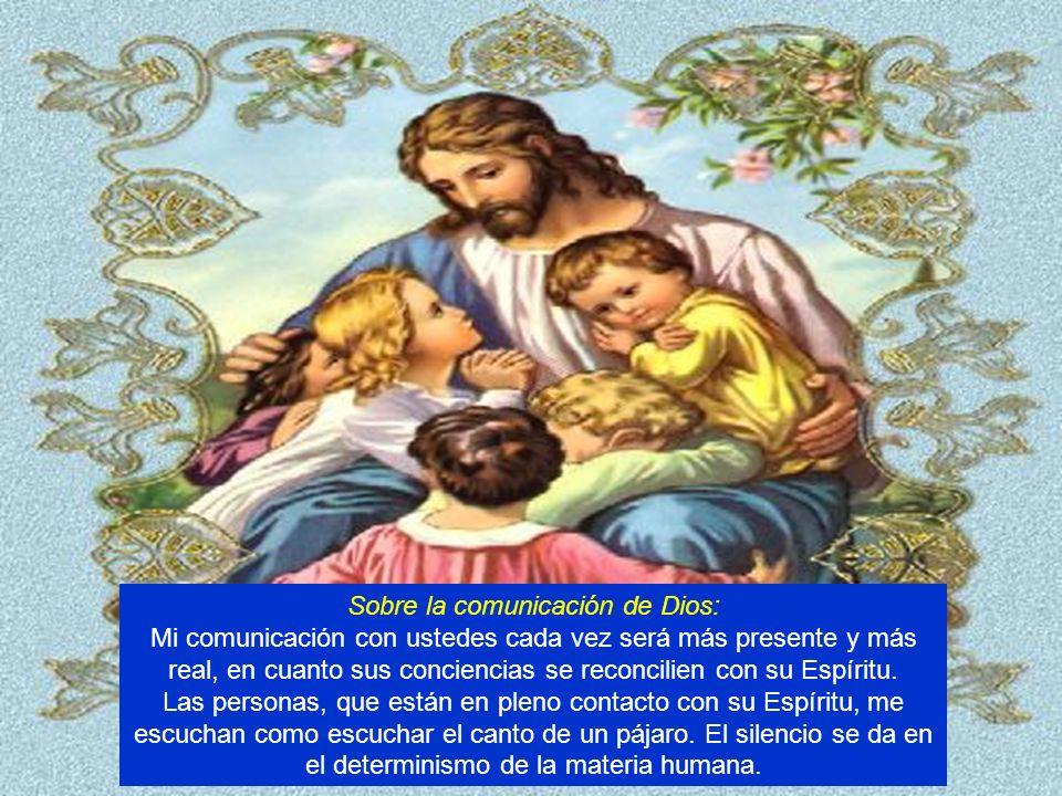 Sobre la comunicación de Dios: