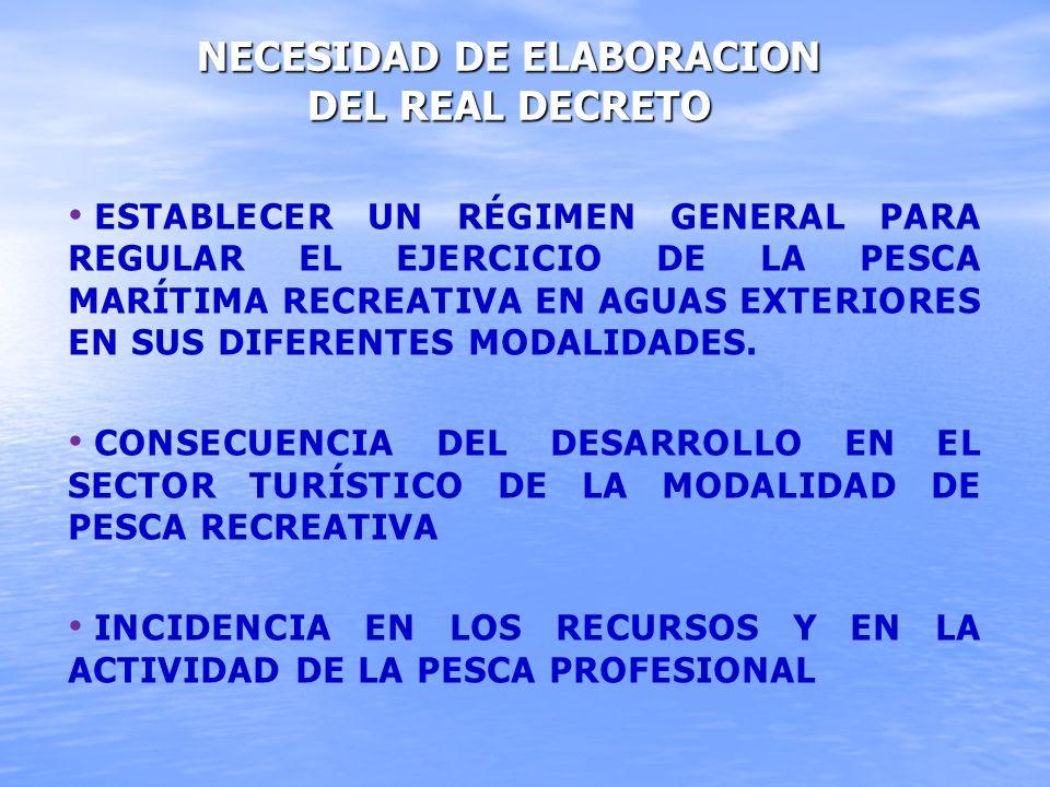 NECESIDAD DE ELABORACION