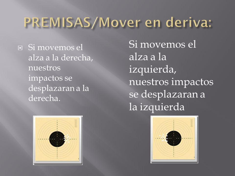 PREMISAS/Mover en deriva: