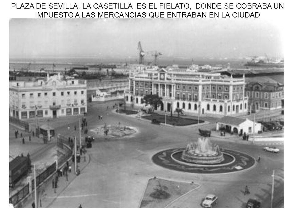 PLAZA DE SEVILLA.