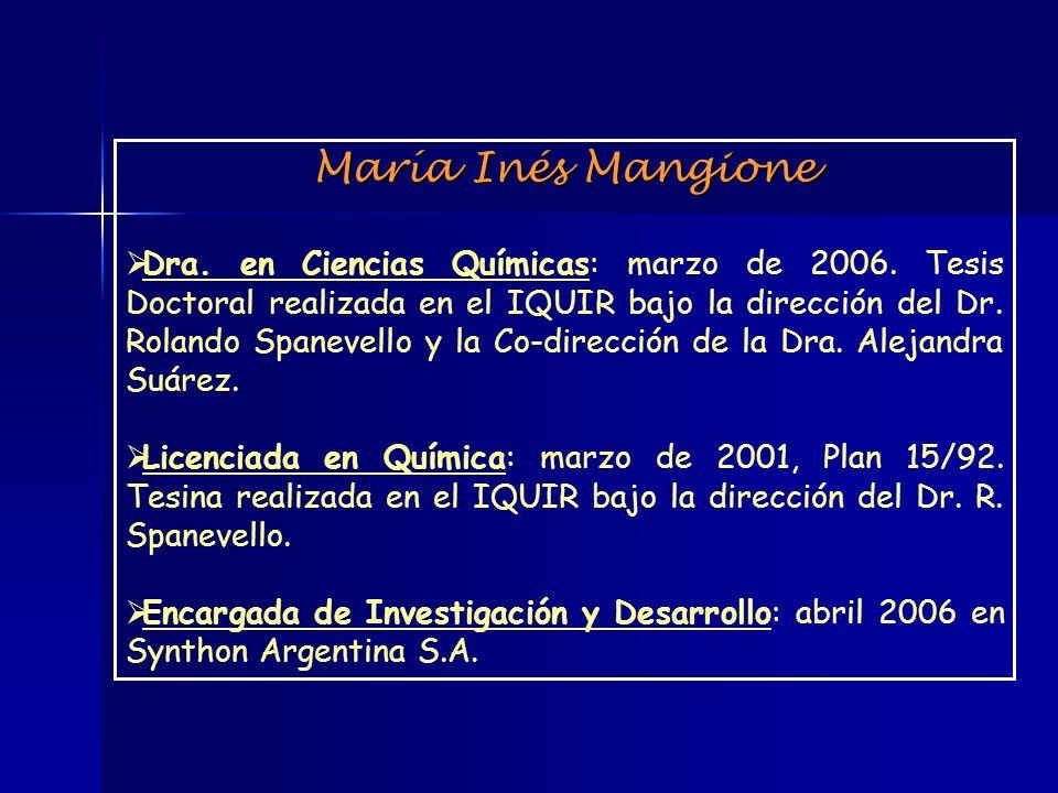 María Inés Mangione