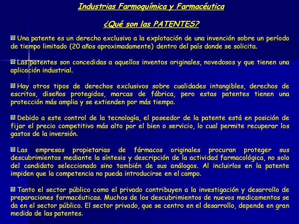Industrias Farmoquímica y Farmacéutica