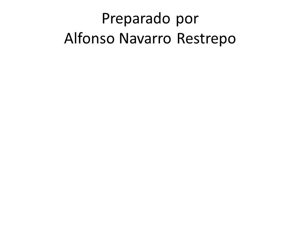 Preparado por Alfonso Navarro Restrepo