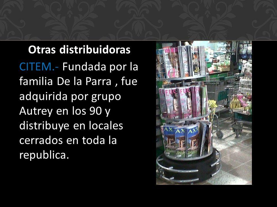 Otras distribuidoras CITEM