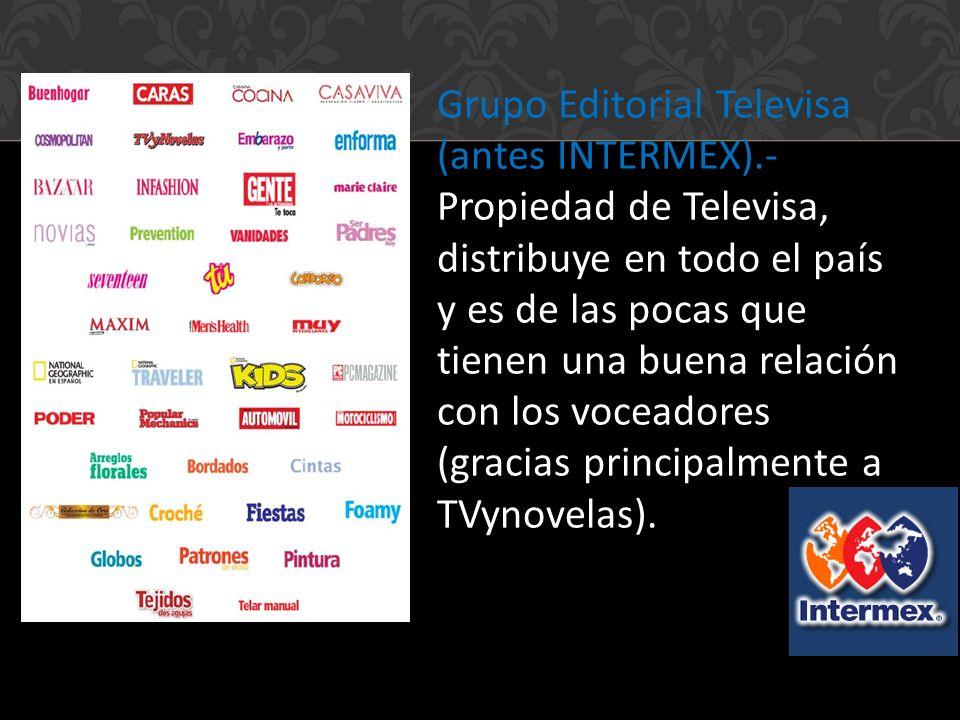 Grupo Editorial Televisa (antes INTERMEX)