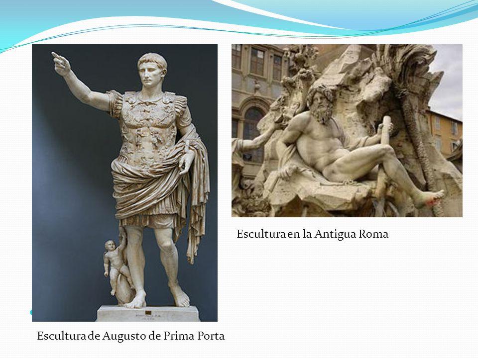 Escultura en la Antigua Roma