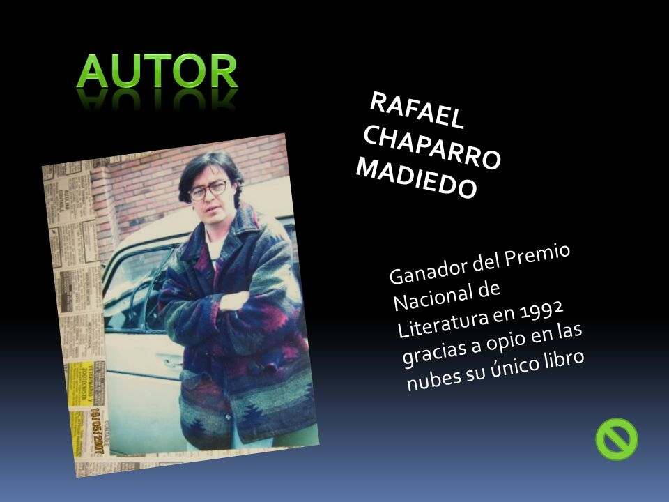 Autor RAFAEL CHAPARRO MADIEDO