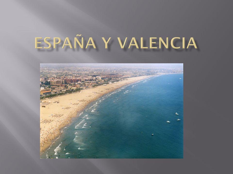 España y valencia