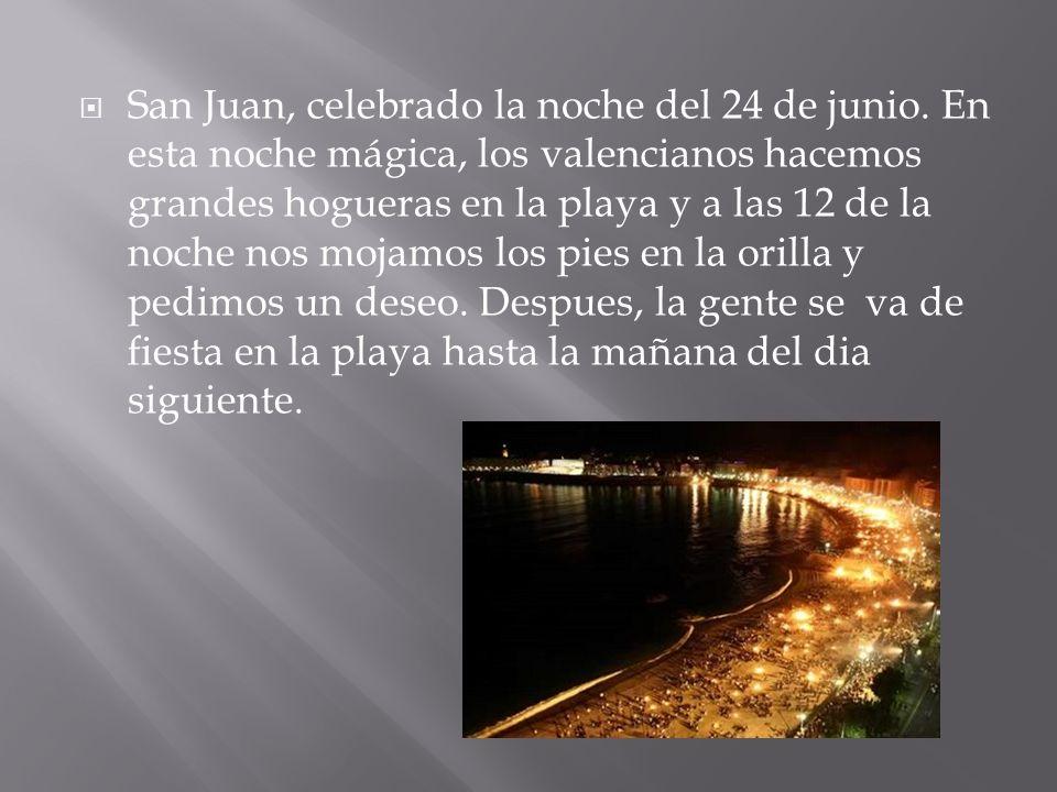 San Juan, celebrado la noche del 24 de junio