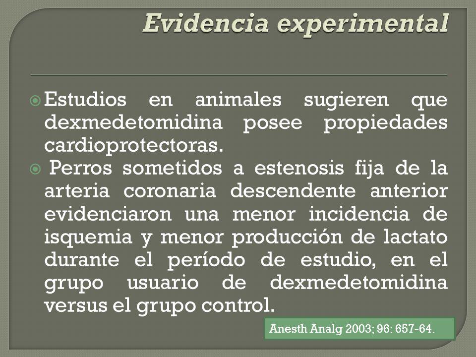 Evidencia experimental